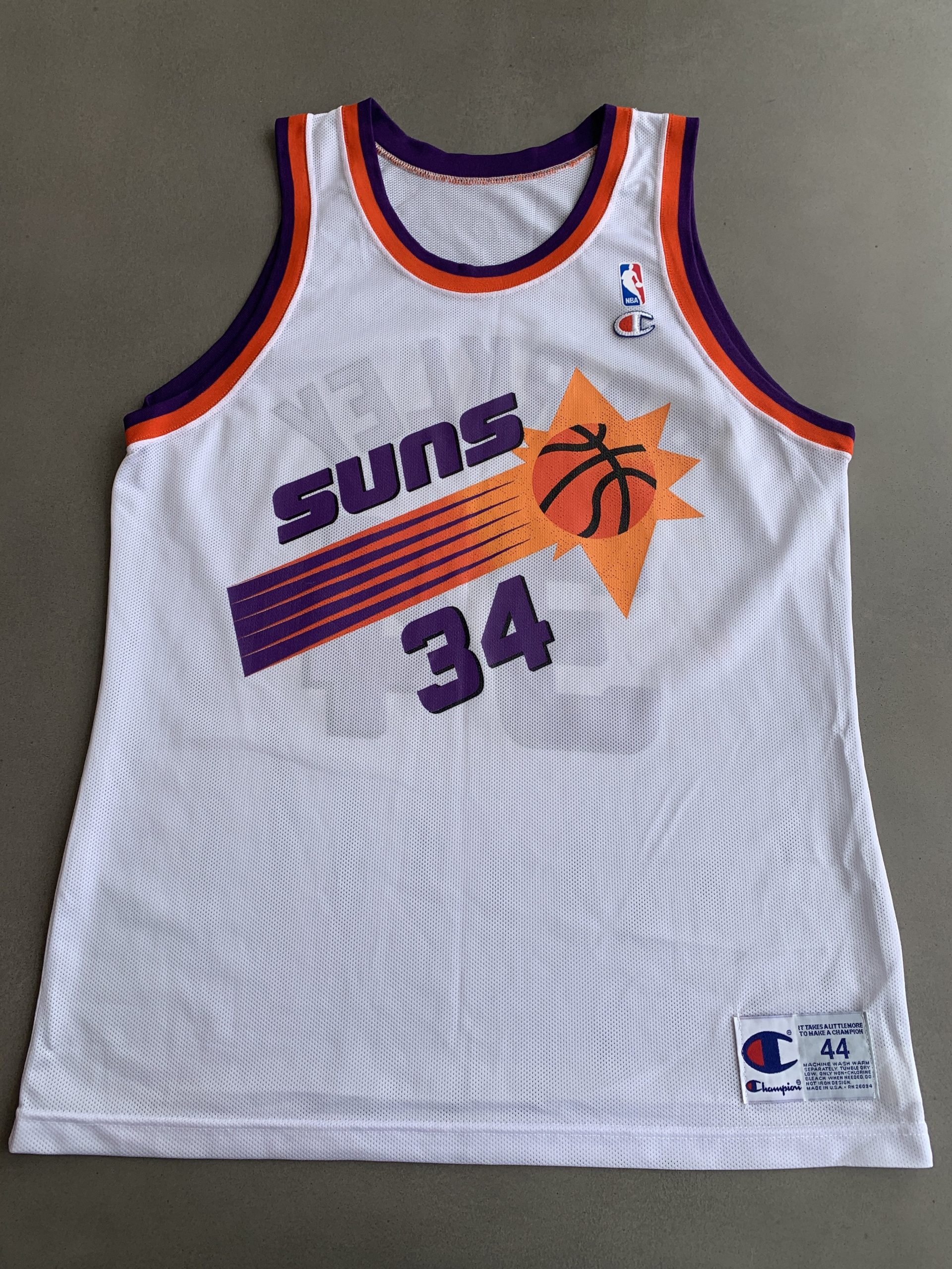 cheap high quality jerseys Champion Charles Barkley Phoenix Suns ...